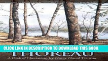 [PDF] Thumbing Through Thoreau: A Book of Quotations by Henry David Thoreau Full Online