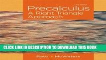 PDF] Precalculus with Unit-Circle Trigonometry 3rd Edition (Third