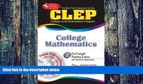 Big Deals  CLEP College Mathematics w/CD-ROM (CLEP Test Preparation)  Best Seller Books Best Seller