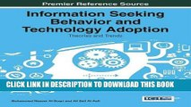[PDF] Information Seeking Behavior and Technology Adoption: Theories and Trends Popular Online