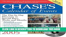 [PDF] Chase s Calendar of Events 2005: Book/CD-Rom Full Online