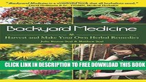 New Book Backyard Medicine: Harvest and Make Your Own Herbal Remedies