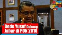 Dukungan Ketua Komisi IX DPR Dede Yusuf Untuk Kontingen Jawa Barat di PON 2016