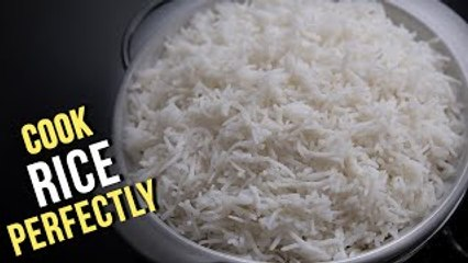 How To Cook Rice Perfectly | 3 Different Methods To Cook Rice | Basic Cooking