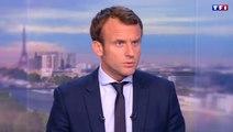 Démissionner, «la meilleure façon d'être utile» estime Macron