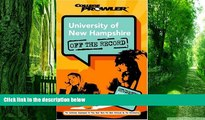 Big Deals  University of New Hampshire: Off the Record (College Prowler) (College Prowler: