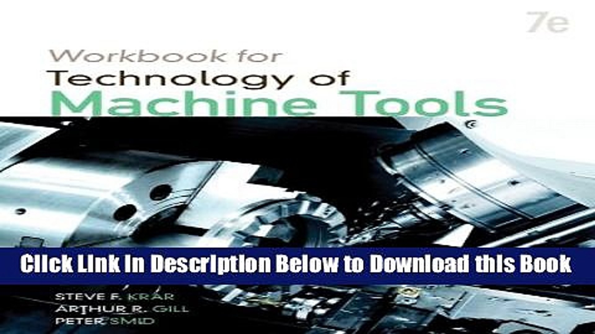 Best Student Workbook For Technology Of Machine Tools Free Ebook