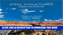 [PDF] Steel Structures: Design and Behavior (5th Edition) Popular Colection