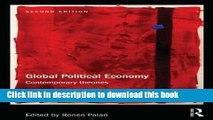 Read Global Political Economy: Contemporary Theories (RIPE Series in Global Political Economy