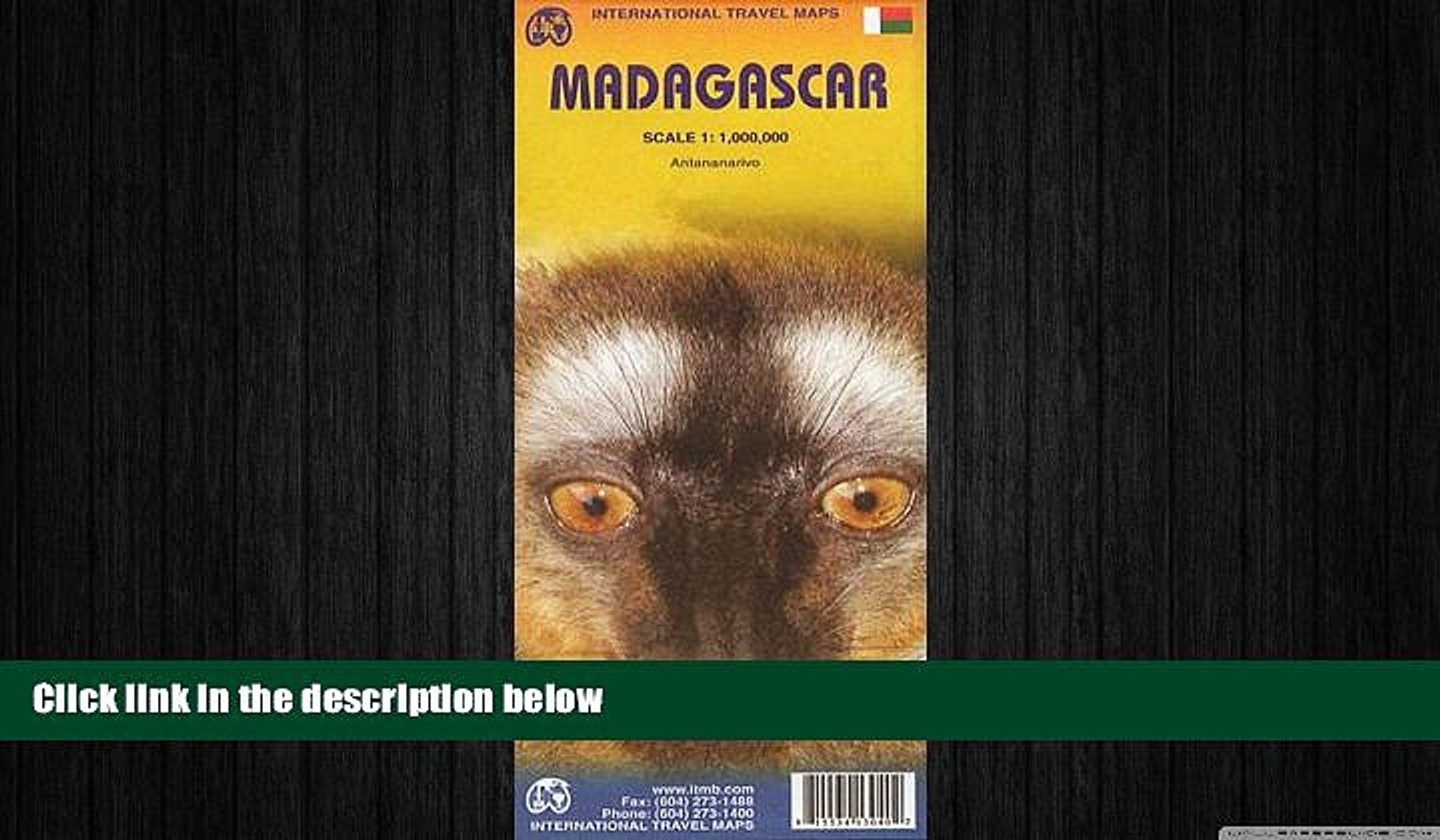 FREE PDF  Madagascar 1:1 000 000 inclued Antananarivo inset (International Travel Maps) READ ONLINE