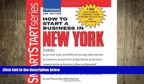 READ book  How to Start a Business in New York (How to Start a Business in New York (Etrm))