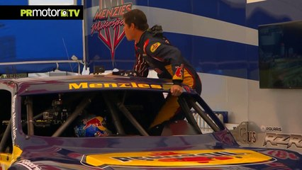 Bryce Menzies breaks truck distance World Record with 115 mts - Material Completo en PRMotor TV [HD, 720p]