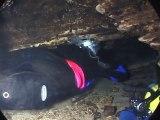 Plongée sous marine dans des caves et grottes !