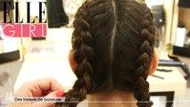 Flair, dénicheur d'idées - Tuto coiffure de boxeuse | Episode 1 en exclu sur ELLE Girl, avec Hélène Rabu (Bar à coiffure 365 C) et Delphine Bourdet (professeur de Yoga et de sophrologie)