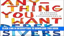 [PDF] Anything You Want: 40 Lessons for a New Kind of Entrepreneur Popular Colection