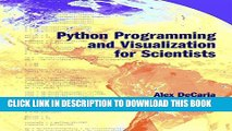 [Read PDF] Python Programming and Visualization for Scientists Ebook Online