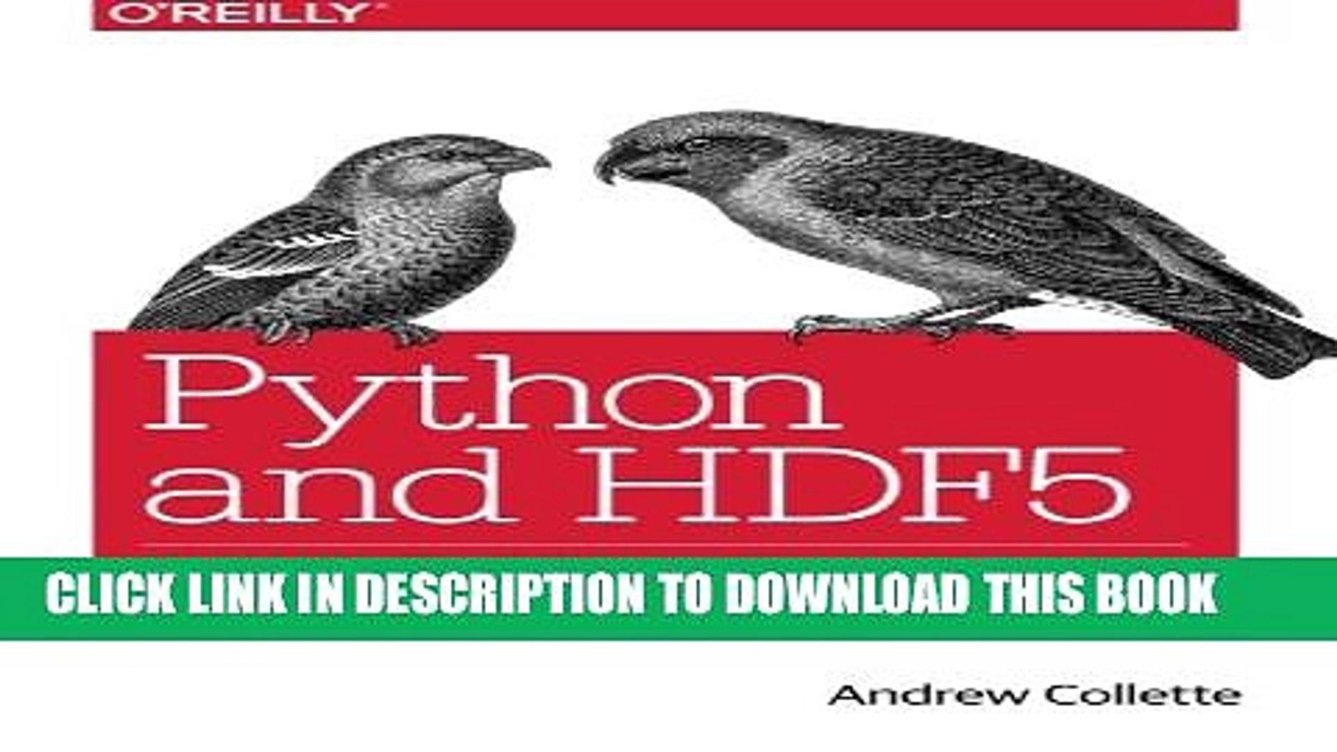 [Read PDF] Python and HDF5 Download Online