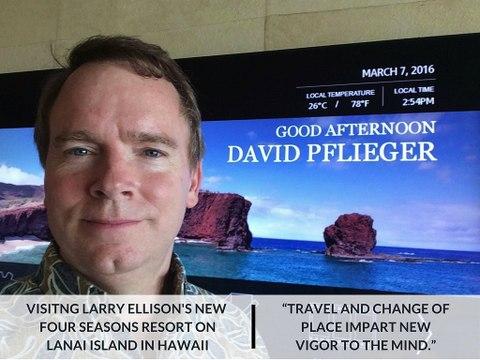 David Pflieger | Travel Inspiration