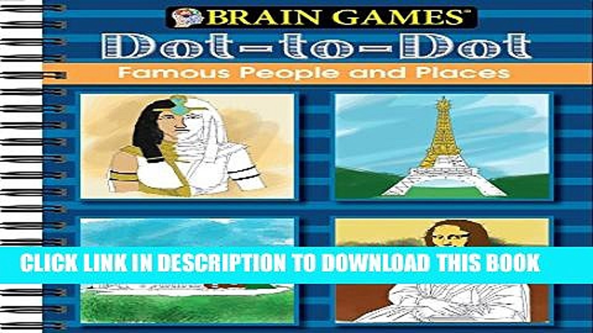 [PDF] Brain Games: Dot to Dot - Famous People and Places Full Colection