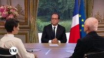 Que pense François Hollande du retour de La Nouvelle Edition ?