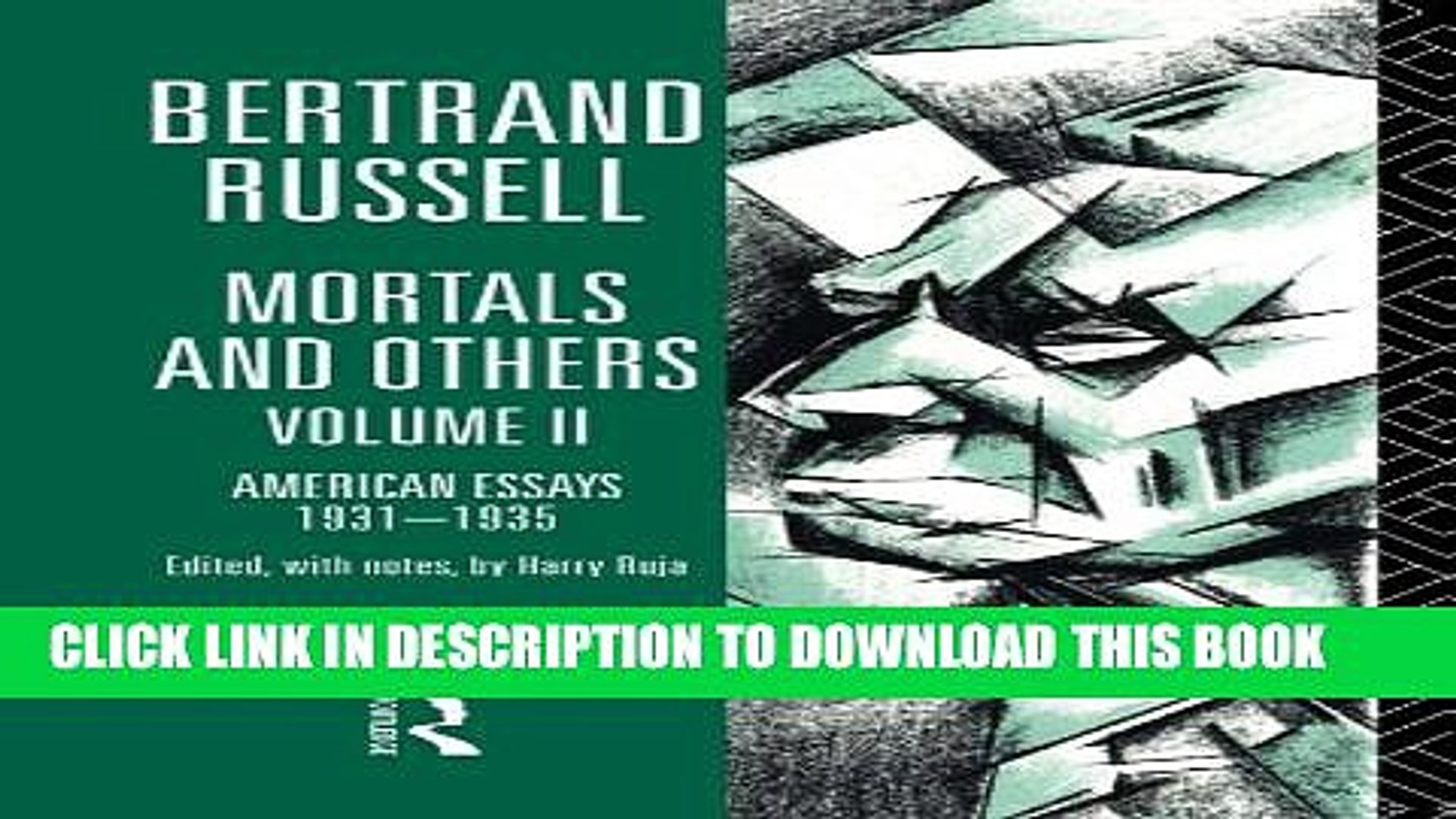 [PDF] Mortals and Others, Volume II: American Essays 1931-1935: 2 (Mortals   Others) Popular