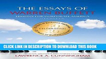 [PDF] The Essays of Warren Buffett: Lessons for Corporate America, Fourth Edition Popular Online