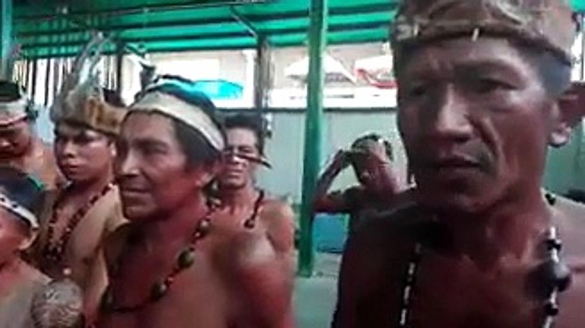 Indígenas de Amazonas llegan a Caracas y este fue su mensaje al país