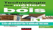 [PDF] Technologie des métiers du bois - Tome 1 - Matériaux bois - Ouvrages - Produits et