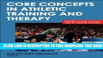 New Book Core Concepts in Athletic Training and Therapy With Web Resource (Athletic Training