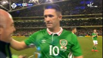 An amazing ovation for Robbie Keane... On his final ever game for the Irish.