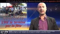 HPyTv JT65 | L'info de Tarbes et des Hautes-Pyrénées (1er septembre 2016)