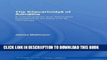 [New] Khecarividya Of Adinatha (Routledge Studies in Tantric Traditions) Exclusive Full Ebook