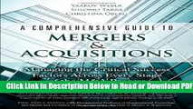 [Get] A Comprehensive Guide to Mergers   Acquisitions: Managing the Critical Success Factors