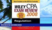 Big Deals  Wiley CPA Exam Review 2008: Regulation (Wiley CPA Examination Review: Regulation)  Best