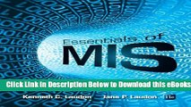 [Reads] Essentials of MIS (11th Edition) Online Ebook