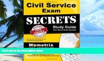 Big Deals  Civil Service Exam Secrets Study Guide: Civil Service Test Review for the Civil Service