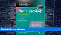 Big Deals  BRS Pharmacology (Board Review Series)  Free Full Read Most Wanted