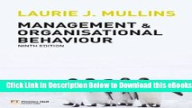 Management And Organizational Behaviour Mullins Ebook Download