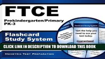[PDF] FTCE Prekindergarten/Primary PK-3 Flashcard Study System: FTCE Test Practice Questions