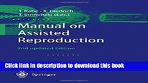 [Popular Books] Manual on Assisted Reproduction Full Online