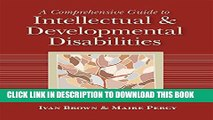 [PDF] A Comprehensive Guide to Intellectual and Developmental Disabilities Popular Online