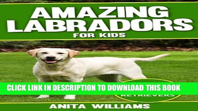 [PDF] AMAZING LABRADORS: A Children s Book About Labrador Retriever s Amazing Facts, Figures and