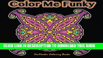 [New] Color Me Funky: fun and funky beginners  black background coloring mandalas for adults