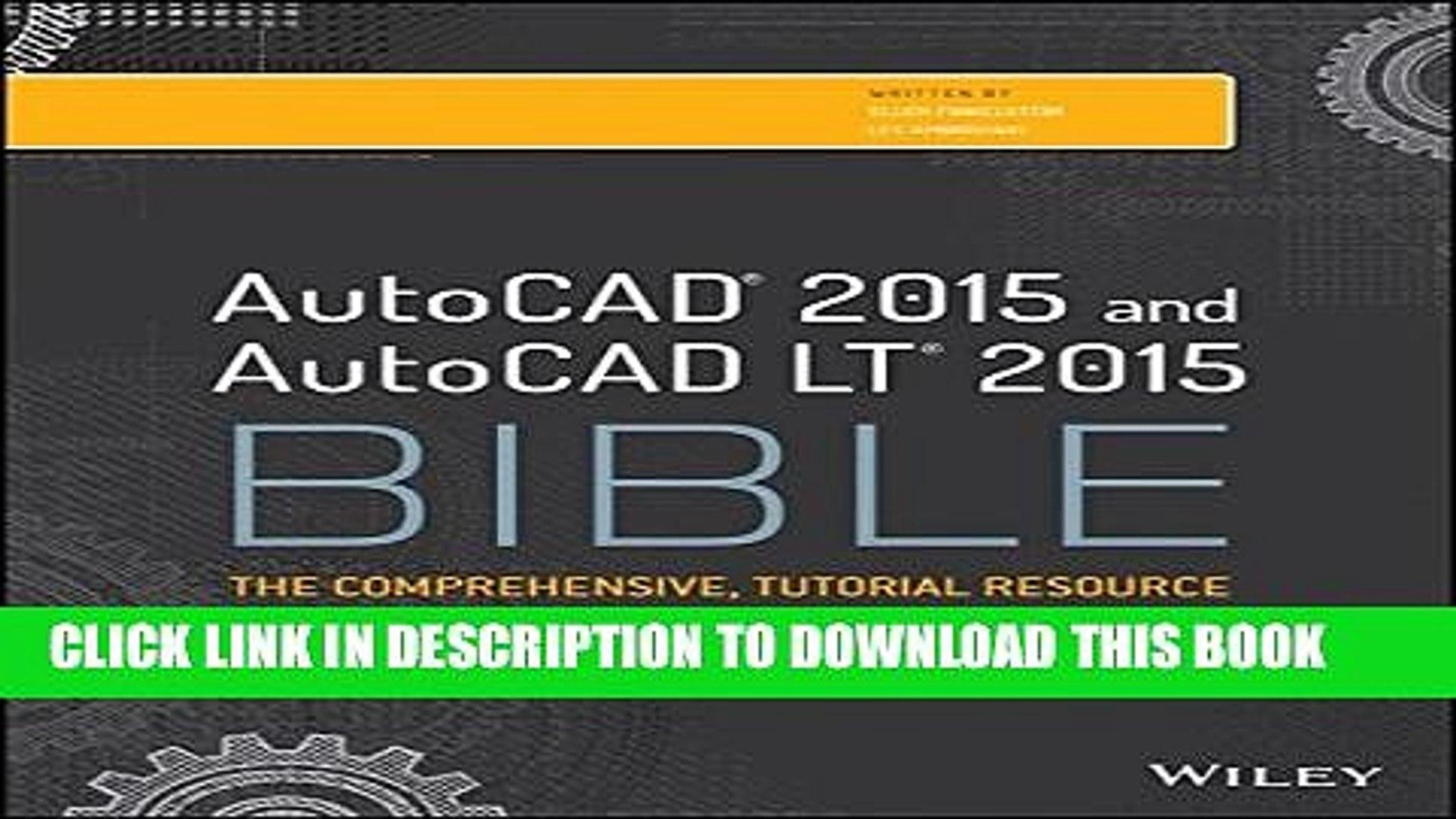 autocad 2015 bible pdf free download