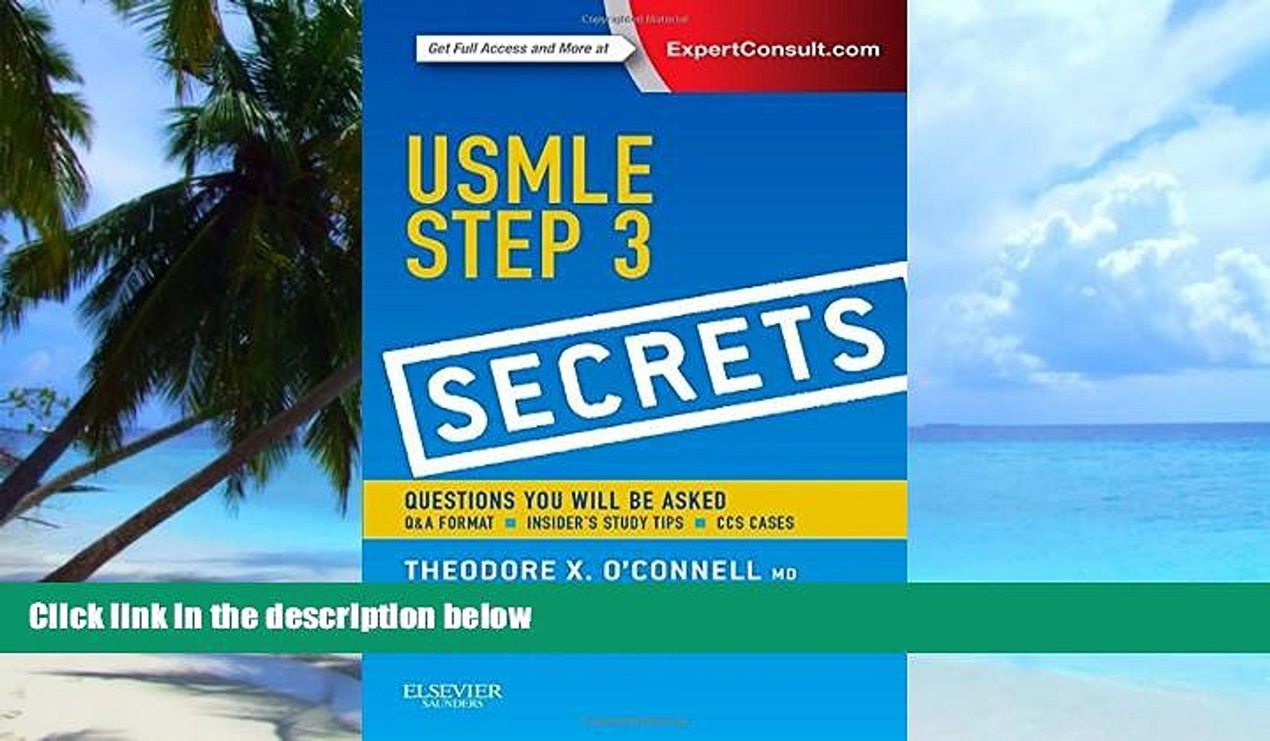 Big Deals USMLE Step 3 Secrets, 1e Free Full Read Most Wanted