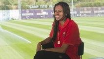 FCB Femenino: Entrevista Andressa Alves en Barça TV