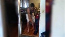 Ce papa aide son fils a devenir Spiderman - Meilleur papa du monde