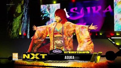 WWE 2K17 : Entrée Asuka