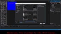 """02 Créer une fenêtre effet """"Geek"""" pour Windows Form Application : Les boutons"""