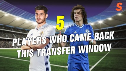 TOP 5 || COME BACK MEN THIS TRANSFER WINDOW